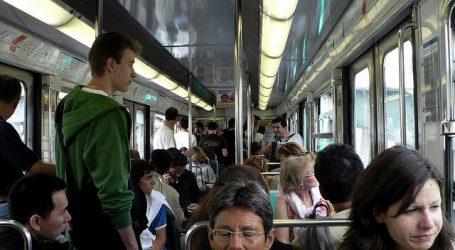 Paris Metro Train
